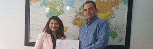 Khaoula gets her Red Hat certification
